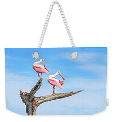 The View From Above Weekender Tote Bag