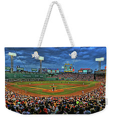 The View From Behind Home Plate - Fenway Park Weekender Tote Bag