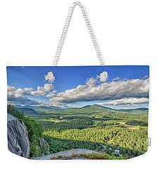 The View From Cathedral Ledge Weekender Tote Bag
