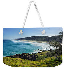 Weekender Tote Bag featuring the photograph The View From Double Island Point by Keiran Lusk