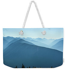 The View From Hurricane Ridge Weekender Tote Bag