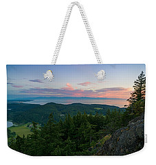 The View From Mt Erie Weekender Tote Bag