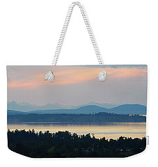 The View From Mt. Tolmie Weekender Tote Bag