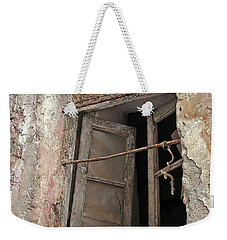 Weekender Tote Bag featuring the photograph The View Inside 2  by Lynda Lehmann