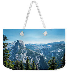 Weekender Tote Bag featuring the photograph The View- by JD Mims