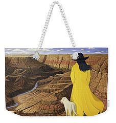 The View Weekender Tote Bag by Lance Headlee