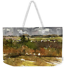 The View On Burlingame Road Weekender Tote Bag by Judith Levins