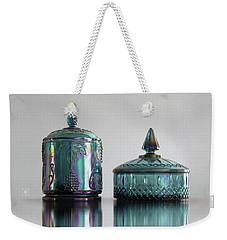 The Vintage Blue Weekender Tote Bag