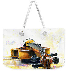 The Violin Weekender Tote Bag