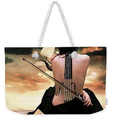 The Violin Song Weekender Tote Bag