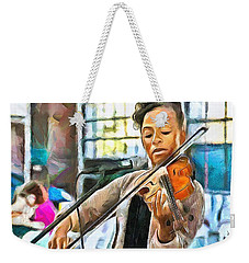 The Violinist Weekender Tote Bag