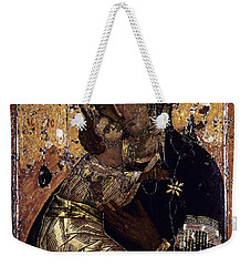 The Virgin Of Vladimir Weekender Tote Bag