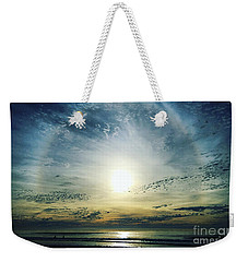 The Lord Is Over The Waters... Weekender Tote Bag