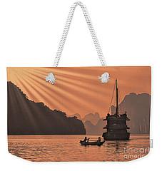 The Voyage Ha Long Bay Vietnam  Weekender Tote Bag