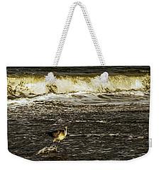 The Wading Willet  Weekender Tote Bag