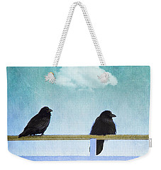The Wait Weekender Tote Bag by Priska Wettstein