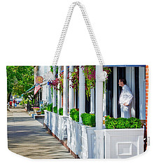 The Waiter Weekender Tote Bag