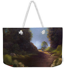 The Walk Home Weekender Tote Bag by Marlene Book