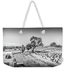 The Walk Through The Grape Vines Weekender Tote Bag