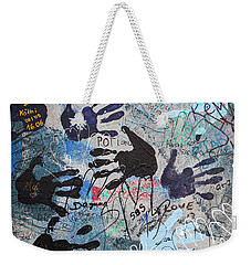The Wall 34 Weekender Tote Bag