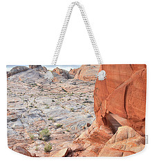 The Wall At Valley Of Fire Weekender Tote Bag