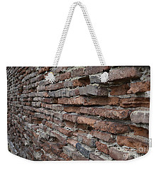 Weekender Tote Bag featuring the photograph The Wall by Cendrine Marrouat