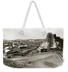 The Wanamie Colliery Lehigh And Wilkes Barre Coal Co Wanamie Pa Early 1900s Weekender Tote Bag