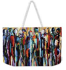 The Wanderers, Good People Series, Pure Justus Weekender Tote Bag
