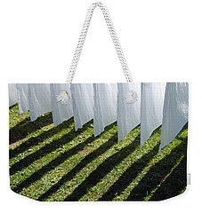 The Washing Is On The Line - Shadow Play Weekender Tote Bag by Matthias Hauser
