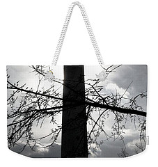 The Washington Monument - Black And White Weekender Tote Bag