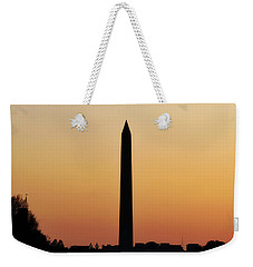 The Washington Monument Weekender Tote Bag