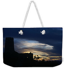 Weekender Tote Bag featuring the photograph The Watch Tower by Broderick Delaney