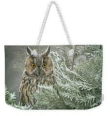The Watcher In The Mist Weekender Tote Bag