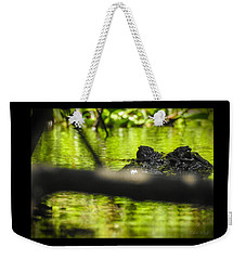 The Watcher In The Water Weekender Tote Bag