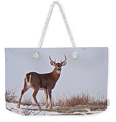The Watchful Deer Weekender Tote Bag