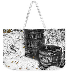 The Water Barrel Weekender Tote Bag