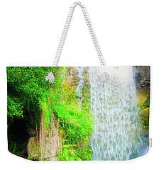 The Water Falls Weekender Tote Bag