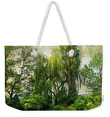The Water Garden Weekender Tote Bag