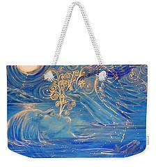 The Water Is Deep Weekender Tote Bag