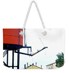 Weekender Tote Bag featuring the photograph The Water Tower by Paul W Faust - Impressions of Light