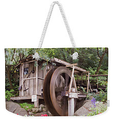 The Water Wheel Keeps Turning ... Weekender Tote Bag