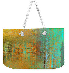 Weekender Tote Bag featuring the digital art The Waterfall by Jessica Wright