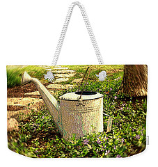 The Watering Can Weekender Tote Bag