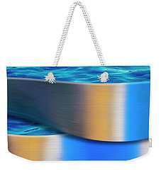 Weekender Tote Bag featuring the photograph The Waters Edge by Paul Wear