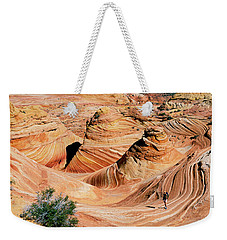 The Wave 2 Weekender Tote Bag