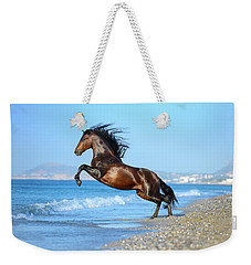 The Wave. Andalusian Horse Weekender Tote Bag