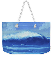 The Wave Weekender Tote Bag by Artists With Autism Inc