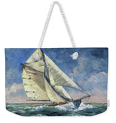 The Wave - Sails 12 Weekender Tote Bag by Irek Szelag