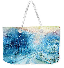 The Way Home  Weekender Tote Bag by Trudi Doyle