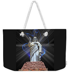 Weekender Tote Bag featuring the photograph The Way by Shane Bechler